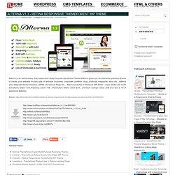 Alterna v1.3 - Retina Responsive Themeforest WP Theme » THEMELOCK.COM - FREE PREMIUM THEMES & TEMPLATES