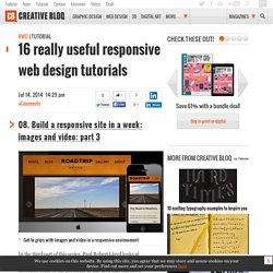 16 really useful responsive web design tutorials