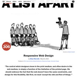 A List Apart Articles Responsive Web Design