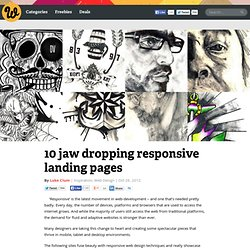10 jaw dropping responsive landing pages