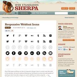 Responsive Webfont Icons