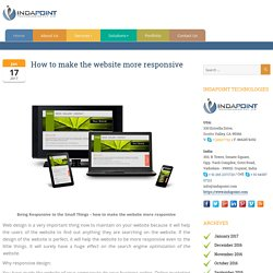 How to Make Fully Responsive Website for your Business