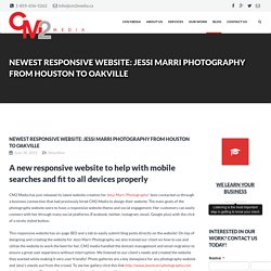 Cm2 Media responsive website design - Jessi Marri Photo