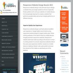Responsive Website Design Boosts SEO