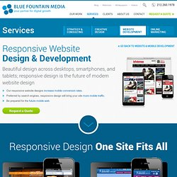 Responsive Website Design | Blue Fountain Media NYC