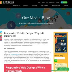 Responsive Website Design : Why is it important?