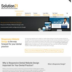 Responsive Dental Website Design