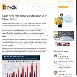 Responsive Webdesign bei kmedia Werbeagentur in München