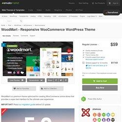 WoodMart - Responsive WooCommerce WordPress Theme by xtemos