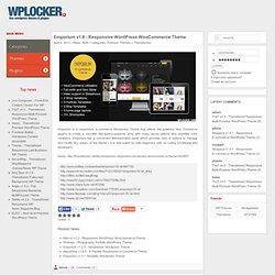 Emporium v1.8 - Responsive WordPress WooCommerce Theme » WPLOCKER.COM - FREE WORDPRESS THEMES & PLUGINS