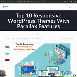 Top 10 Responsive WordPress Themes With Parallax Features - Infigo Software
