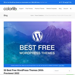 50+ Best Free Responsive WordPress Themes 2015
