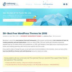 50+ Best Free Responsive WordPress Themes for 2016