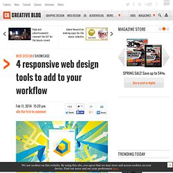 4 responsive web design tools to add to your workflow
