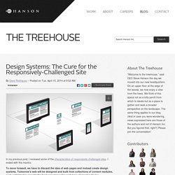 Design Systems: The Cure for the Responsively-Challenged Site