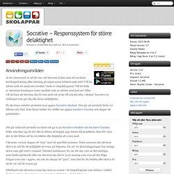 Recension av Socrative - Responssystem för större delaktighet
