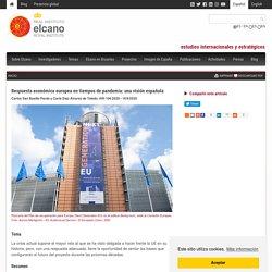 Respuesta económica europea en tiempos de pandemia: una visión española