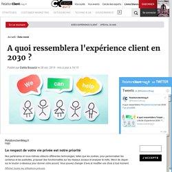 A quoi ressemblera l'expérience client en 2030 ?