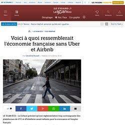 Voici à quoi ressemblerait l'économie française sans Uber et Airbnb