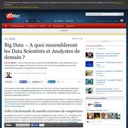 Big Data – A quoi ressembleront les Data Scientists et Analystes de demain ?
