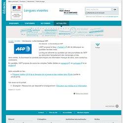 Une ressource : Le fact-checking par l'AFP-Langues vivantes-Éduscol