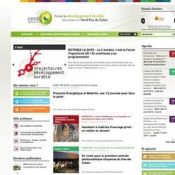 [ Centre Ressource du Développement Durable - CERDD