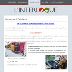 Ressourcerie ® Paris Centre