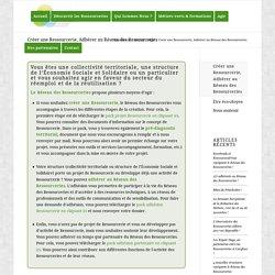 Créer une Ressourcerie, Adhérer au Réseau des Ressourceries - Ressourcerie.fr