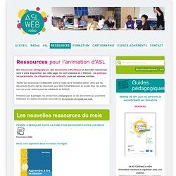 ASL web - Ressources