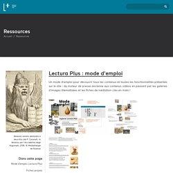 Lectura + : portail du patrimoine écrit et graphique de la région Auvergne-Rhône-Alpes