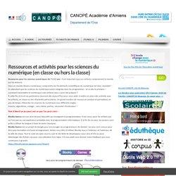Ressources et activités pour les sciences du numérique (en classe ou hors la classe)