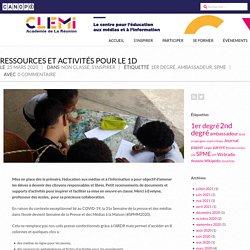 Ressources et activités pour le 1D – CLEMI La Réunion