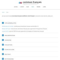 Docs et ressources pour améliorer votre français avec internet
