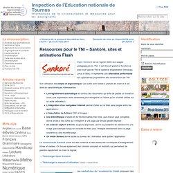 Ressources pour le TNI – Sankoré, sites et animations Flash « Inspection de l'Éducation nationale de Tournus