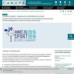 Année du Sport - Réseau Canopé