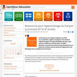 Ressources pour l'apprentissage du français au primaire (5e et 6e année)