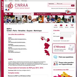 Le CNRAA - CNRAA Centre National de Ressources pour l'Alternance en Apprentissage