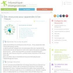 Ressources pour l'apprentissage de l'heure