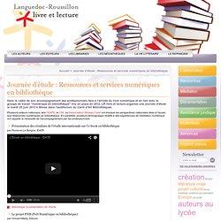 Journée d'étude : Ressources et services numériques en bibliothèque