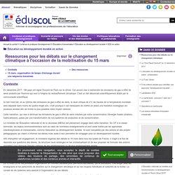 EDD en action - Ressources pour des débats sur le changement climatique