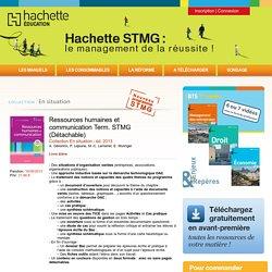 Ressources humaines et communication Term. STMG (Détachable)