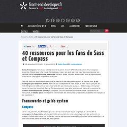 40 ressources pour les fans de Sass et Compass — front-end developer
