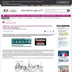 #JeDessine : des ressources pour comprendre la liberté d'expression et les valeurs de la République