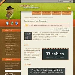 Pack de textures pour Photoshop - Ressources & Outils