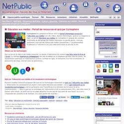 Education aux médias : Portail de ressources et quiz par Curiosphere