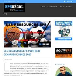 Des ressources EPS pour bien démarrer l'année 2020 - EPS Régal