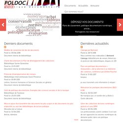 PolDoc : Ressources documentaires