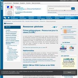 Ressources générales — Documentation (CDI)