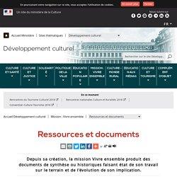 Ressources et documents - Ministère de la Culture
