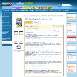 Ressources TBI pour Easy English Now (volume 1)